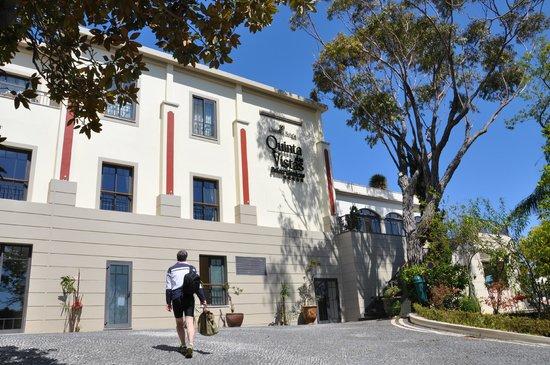 Quinta Das Vistas Palace Gardens: Arrivée à l'hôtel