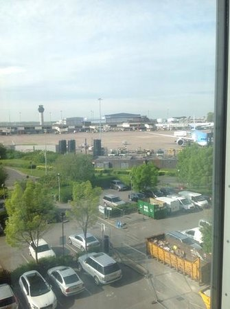 Radisson Blu Hotel, Manchester Airport: View from 456