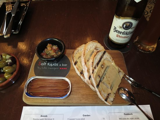 Salt tapas & bar: Ortiz Anchovies