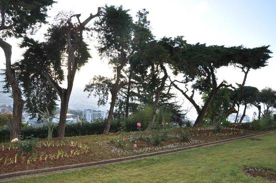 Quinta Das Vistas Palace Gardens : On aperçoit la mer de la chambre 109