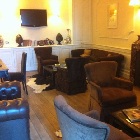 Villa Fiesole Hotel: Lounge