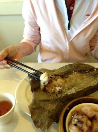 レジェンド シーフードレストラン, 巨大チマキ