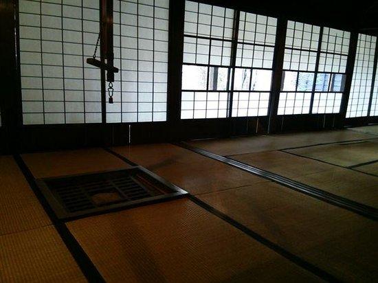 Aoyagi Samurai Manor Museum: 内部