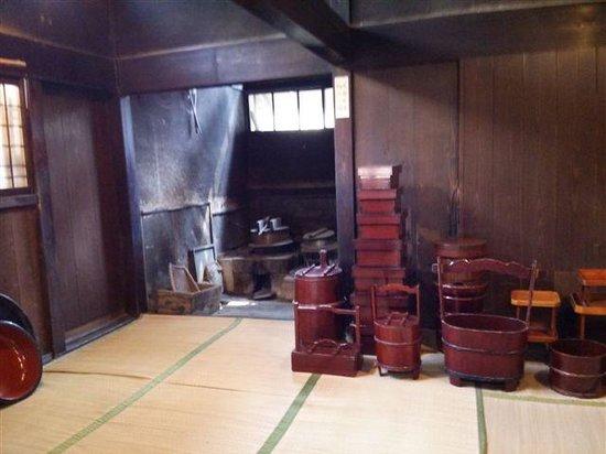 Aoyagi Samurai Manor Museum: 台所