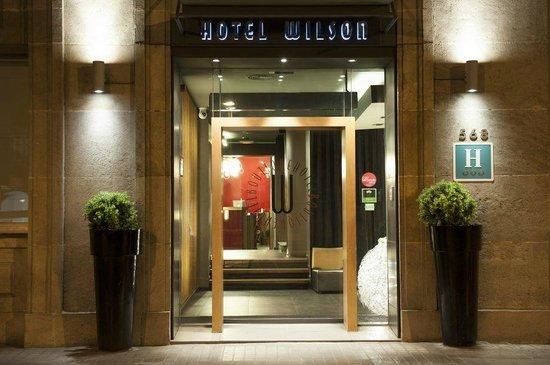 Wilson Boutique Hotel: Hotel enterance