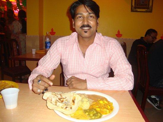 Udupi : having my food
