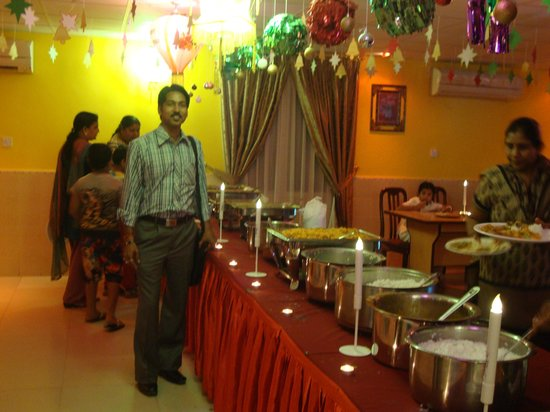 Udupi : candel light dinner party