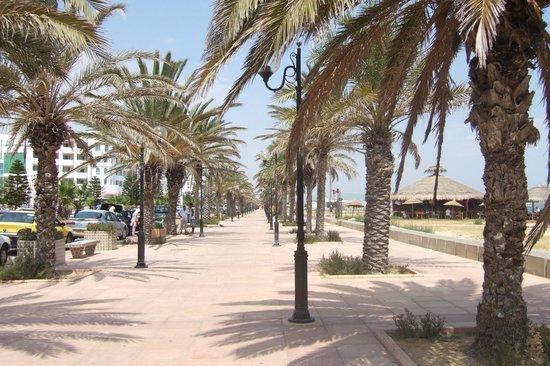 Hotel Safa : promenade
