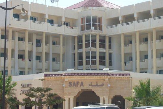 Hotel Safa: main enter