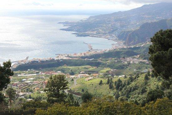 Hotel San Telmo : Santa Cruz - aus der Höhe