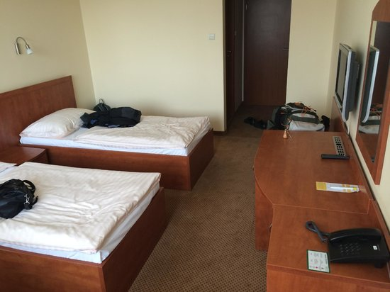 Hotel Bratislava: Inside the room
