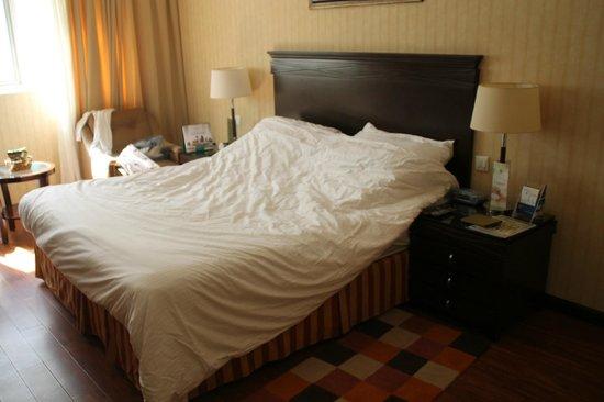 Flora Grand Hotel: Letto