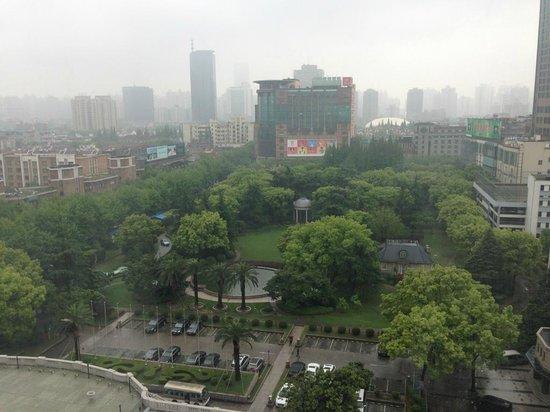 Okura Garden Hotel Shanghai: 部屋からの眺め