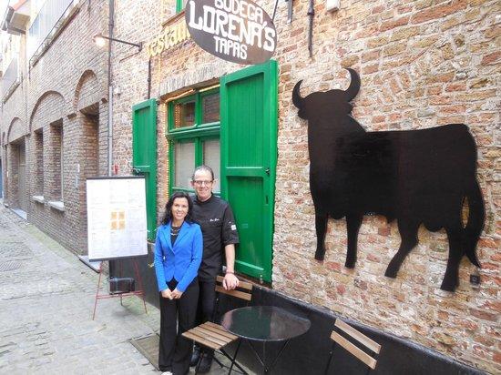 Bodega Lorena's: Een beetje weg gedoken aan het Simon Stevin plein, centrum Brugge