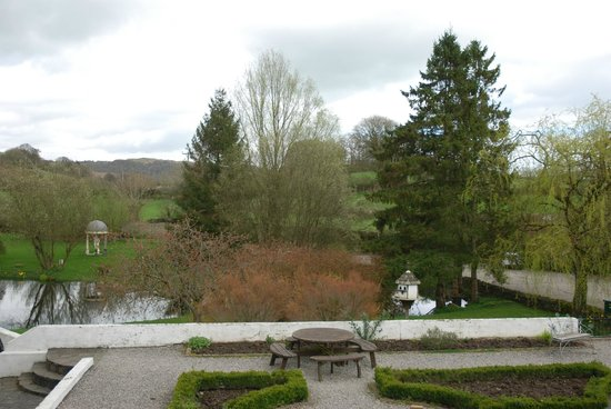 Damson Dene Hotel: View from table in dining room.