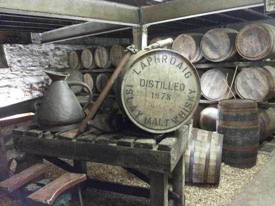 Laphroaig Distillery : the treasure