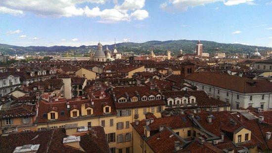 Santuario Basilica La Consolata : Vista panoramica dalla torre campanaria