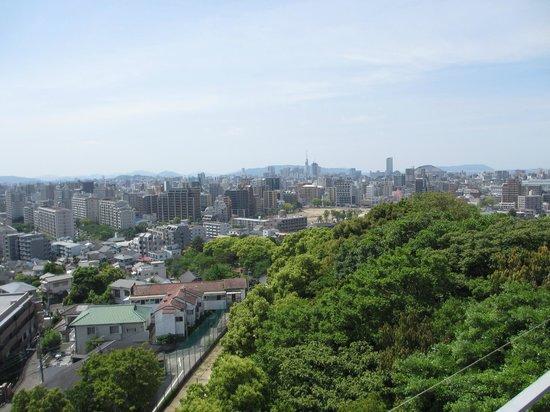 Agora Fukuoka Hilltop Hotel & Spa: ホテルから 福岡ドーム側を