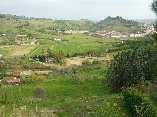 La Pieve Albergo Ristorante: Udsigt fra værelse 46