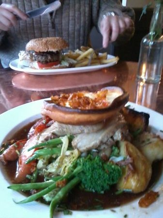 The Flower Pot: Good portions and utterly delicious