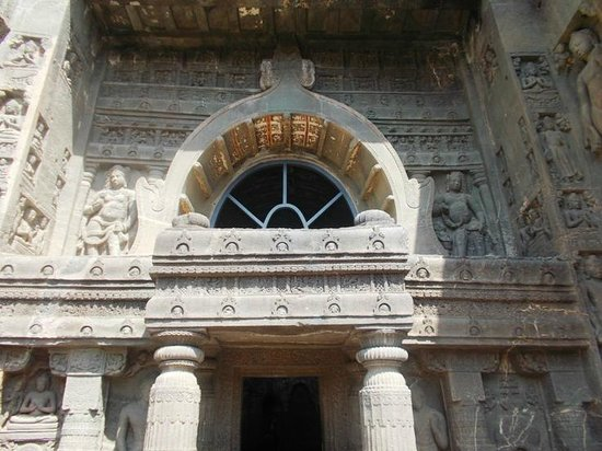 Ajanta, India: Main Caves Arch