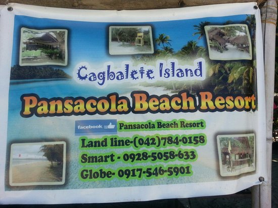 Pansacola Beach Resort: Contact details of resort
