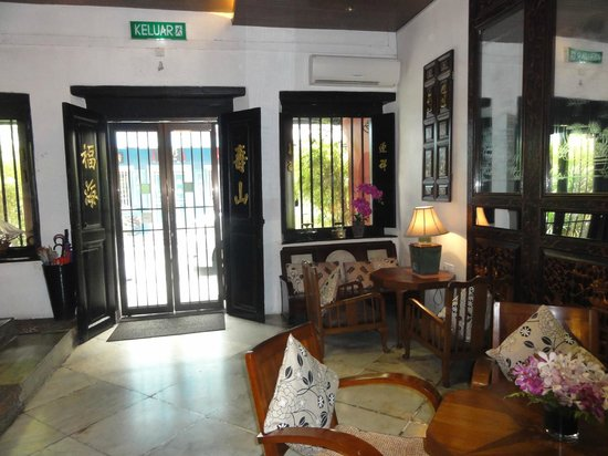 Courtyard @ Heeren Boutique Hotel: Hotel entrance/lobby