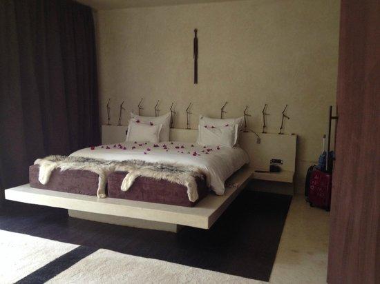 Hôtel Dar Sabra Marrakech : Chambre parentale
