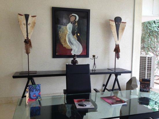 Dar Sabra Hotel Marrakech: Bureau