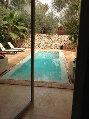 Dar Sabra Hotel Marrakech: Piscine privée