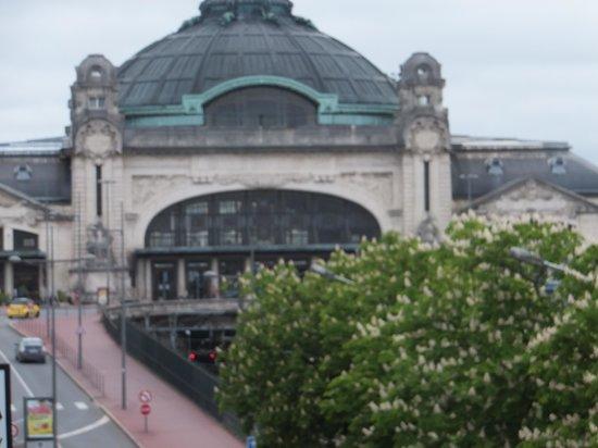 Hotel Jeanne d'Arc: desde la ventana