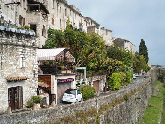 Saint-Paul de Vence : Scorcio verde