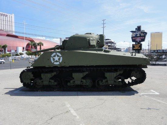 Battlefield Vegas: A tank