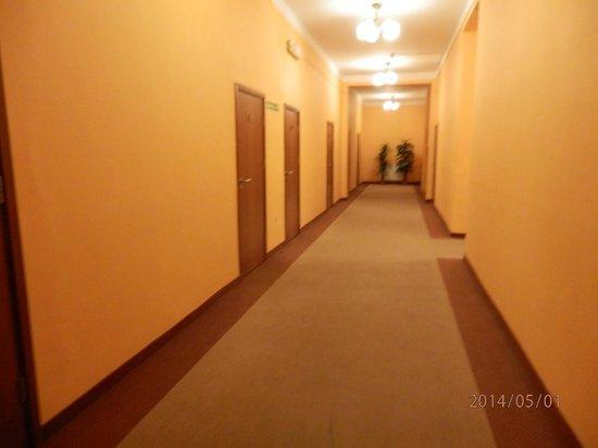 Hotel Lothus: Pasillo de las habitaciones