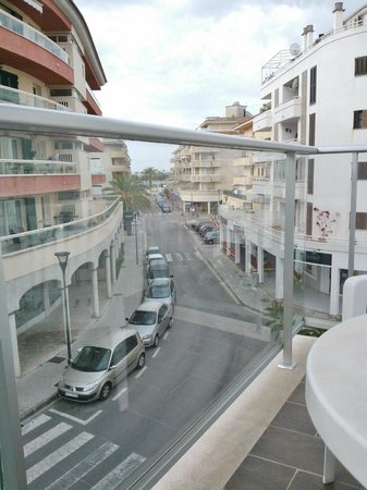 Eix Alcudia Hotel - Adults Only: View from balcony