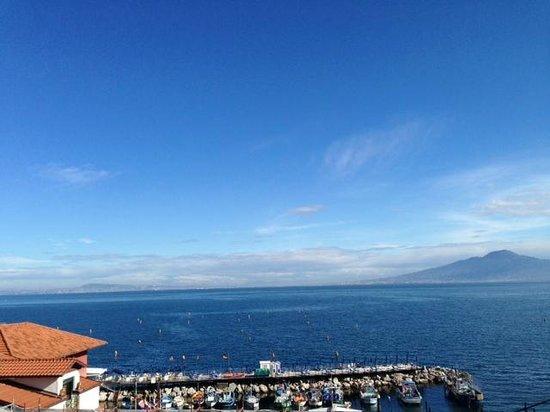 Hotel del Mare: Panorama dal solarium