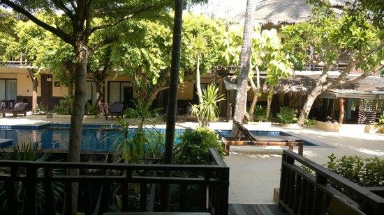 Phra Nang Inn: Pool from balcony