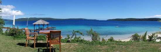 The Havannah, Vanuatu : Panorama view from restaurant