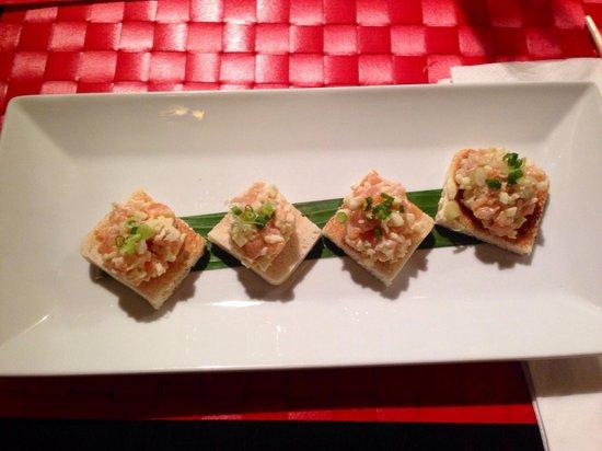 Magokoro : Tartare de saumon