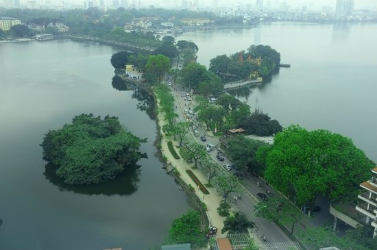 Pan Pacific Hanoi: View from room