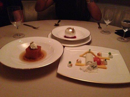Armani/Ristorante : Desserts
