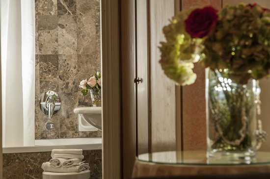Hotel Nord Nuova Roma : Bathroom