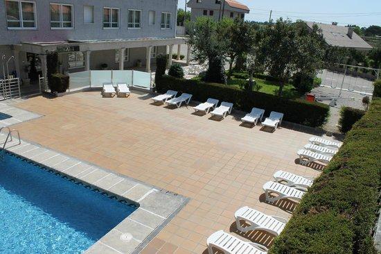 Hotel Susuqui: Zona de piscina