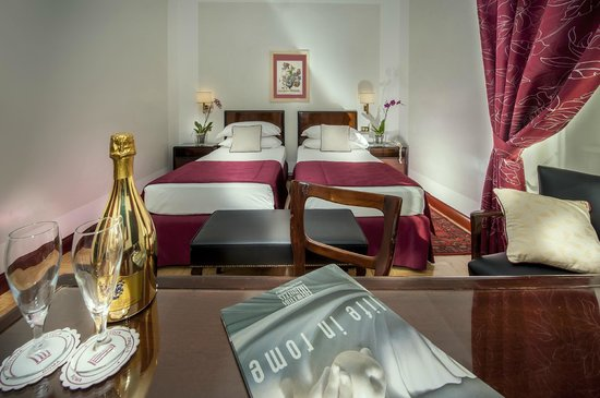 Hotel Nord Nuova Roma : Twin Bed Room