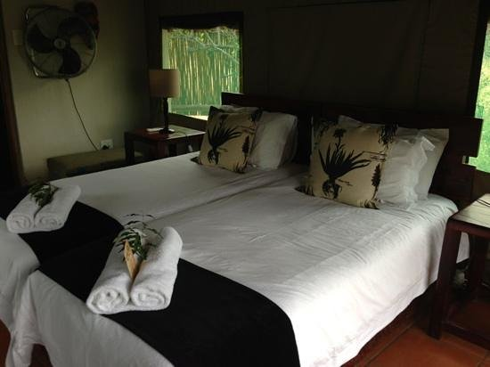 Sausage Tree Safari Camp : Wel appointed tents!