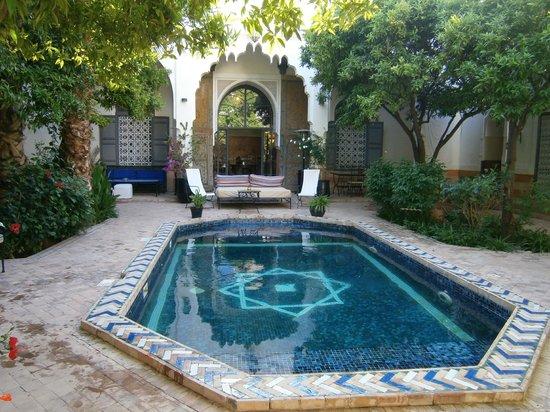 Riad Laila: véritable piscine