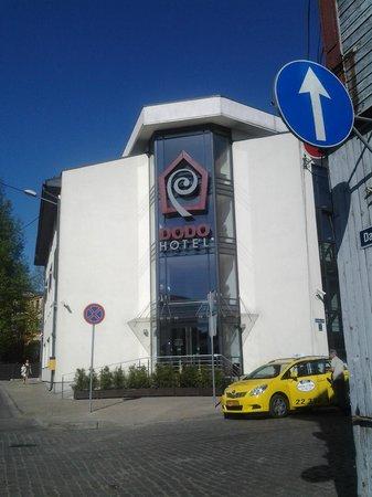Dodo Hotel: Wejście do hotelu