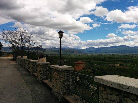 Ristorante Al Castello: la vista dal ristorante