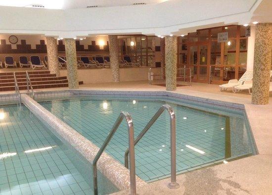 Hunguest Hotel Pelion: Термальные бассейны