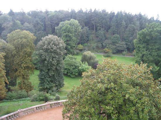 Chateau Colbert: Vue depuis la chambre de charme sur le Parc Oriental